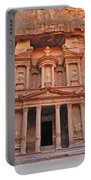 Petra Treasury Portable Battery Charger by Tony Beck