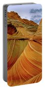 Petrified Sand Dunes The Wave Portable Battery Charger