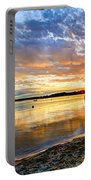 Pewaukee Vibrant Evening  Portable Battery Charger