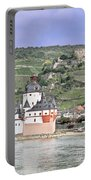 Pfalzgrafenstein With Burg Gutenfels  Portable Battery Charger