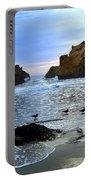 Pfeiffer Beach Big Sur Twilight Portable Battery Charger