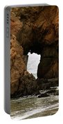 Pfeiffer Beach Rocks In Big Sur Portable Battery Charger