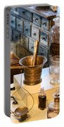 Pharmacist - Brass Mortar And Pestle Portable Battery Charger