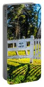 Phelps Cemetery  Portable Battery Charger