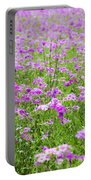 Phield Of Phlox Portable Battery Charger
