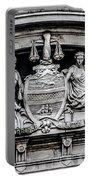 Philadelphia City Hall - City Seal  Portable Battery Charger