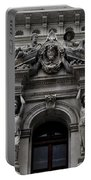 Philadelphia City Hall Dormer Window Portable Battery Charger by Bill Cannon