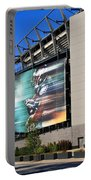 Philadelphia Eagles - Lincoln Financial Field Portable Battery Charger by Frank Romeo