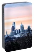 Philadelphia From Belmont Plateau Portable Battery Charger