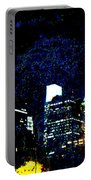 Philadelphia Pennsylvania At Night From The River Walk Portable Battery Charger
