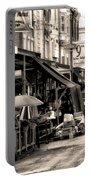Philadelphia's Italian Market Portable Battery Charger by Bill Cannon