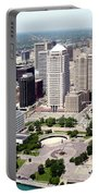 Philip A Hart Plaza Detroit Portable Battery Charger