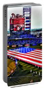 Phillies American Portable Battery Charger by Alice Gipson