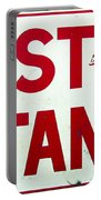 Phillies East Stand Sign - Connie Mack Stadium Portable Battery Charger