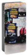 Philly Cheese Steak Cart Portable Battery Charger