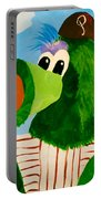 Philly Phanatic Portable Battery Charger by Trish Tritz