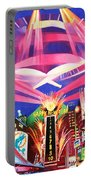 Phish New Years In New York Middle Portable Battery Charger by Joshua Morton