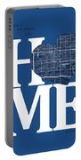 Phoenix Street Map Home Heart - Phoenix Arizona Road Map In A He Portable Battery Charger