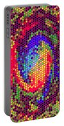 Phone Case Art Colorful Intricate Abstract Geometric Designs By Carole Spandau 129 Cbs Art Exclusive Portable Battery Charger by Carole Spandau