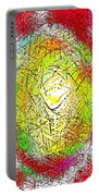 Phone Case Art Intricate Abstract City Network Geometric Design By Carole Spandau 131 Cbs Art   Portable Battery Charger by Carole Spandau