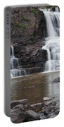 Photograph Of Lower Gooseberry Falls In Minnesota Portable Battery Charger