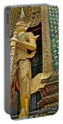 Phra Mondhop At Thai Pagoda At Grand Palace Of Thailand In Bangkok  Portable Battery Charger