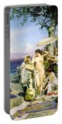Phryne At The Festival Of Poseidon In Eleusin Portable Battery Charger
