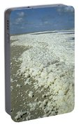 Phytoplankton Bloom On Beach Portable Battery Charger