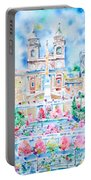 Piazza Di Spagna - Rome Portable Battery Charger