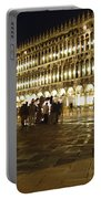 Piazza San Marco Portable Battery Charger by Ellen Henneke
