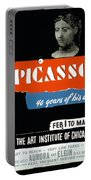 Picasso 40 Years Of His Art  Portable Battery Charger