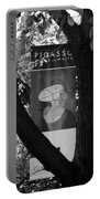 Picasso In Black And White Portable Battery Charger