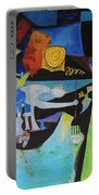 Picasso   Night Fishing At Antibes Portable Battery Charger