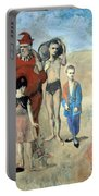 Picasso's Family Of Saltimbanques Portable Battery Charger
