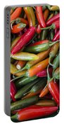 Pick A Peck Of Peppers Portable Battery Charger