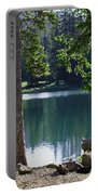 Picnic By The Lake Portable Battery Charger