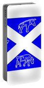 Pictish Scotland Flag 2 Portable Battery Charger