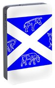 Pictish Scotland Flag Portable Battery Charger