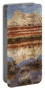 Picturesque Blue Canyon Formations Portable Battery Charger