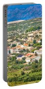 Picturesque Mediterranean Island Village Of Kolan Portable Battery Charger