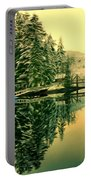 Picturesque Norway Landscape Portable Battery Charger