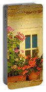 Picturesque Taormina Window  Portable Battery Charger