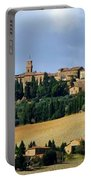 Pienza A Hill Town In Tuscany Portable Battery Charger