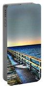 Pier - Chesapeake Bay Bridge #1 Portable Battery Charger