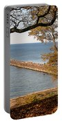 Pier In The Fall Portable Battery Charger