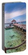 Pier Into Blue. Resort Vivanta By Taj Portable Battery Charger