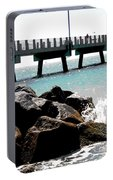 Pier Poster Portable Battery Charger