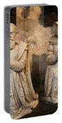 Pierre Jeannin And His Wife Sculpture Cathedral Autun Portable Battery Charger