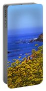 Pigeon Point Lighthouse Panoramic Portable Battery Charger