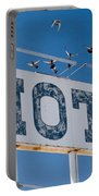 Pigeon Roost Motel Sign Portable Battery Charger